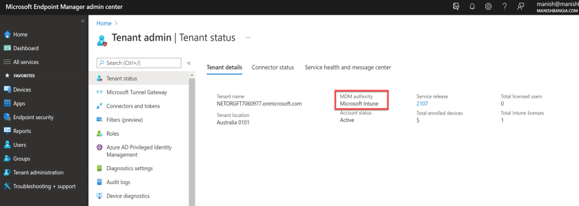 Enable automatic enrollment in Intune 6