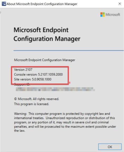SCCM 2107 – Step by step upgrade guide for ConfigMgr 2107 18