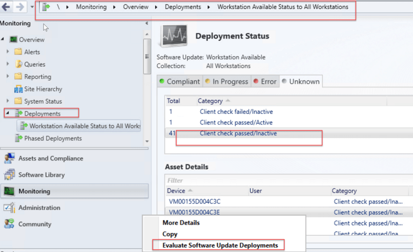 Evaluate Software Update Deployments