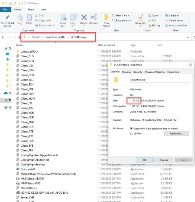 Download SCCM prerequisite files offline 1