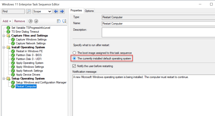 How to deploy Windows 11 using SCCM Task Sequence 3