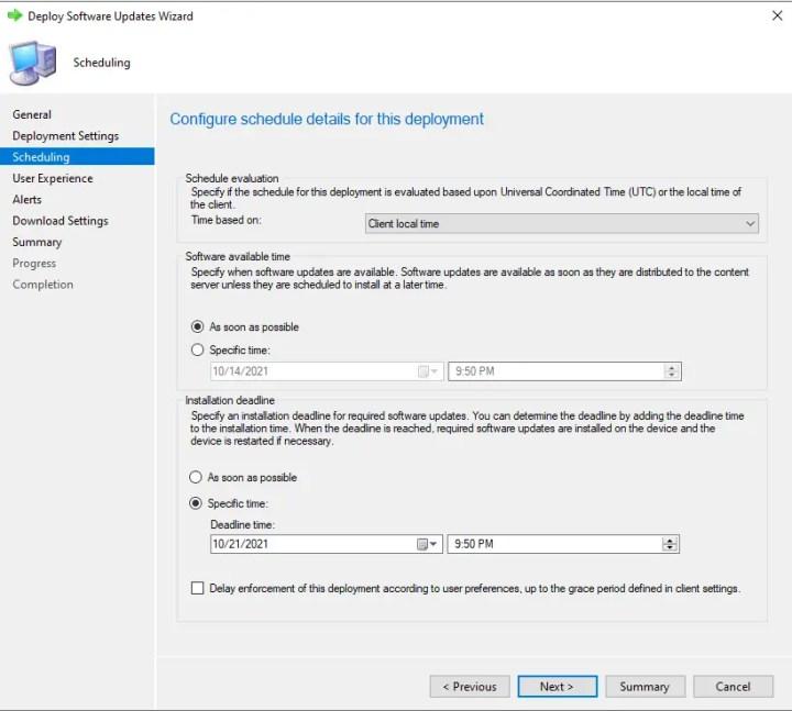 Deploy Windows 11 Software Update using SCCM 9