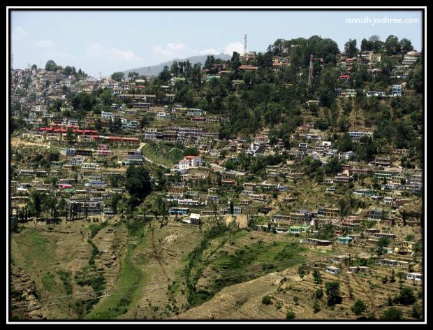 The large Almora city