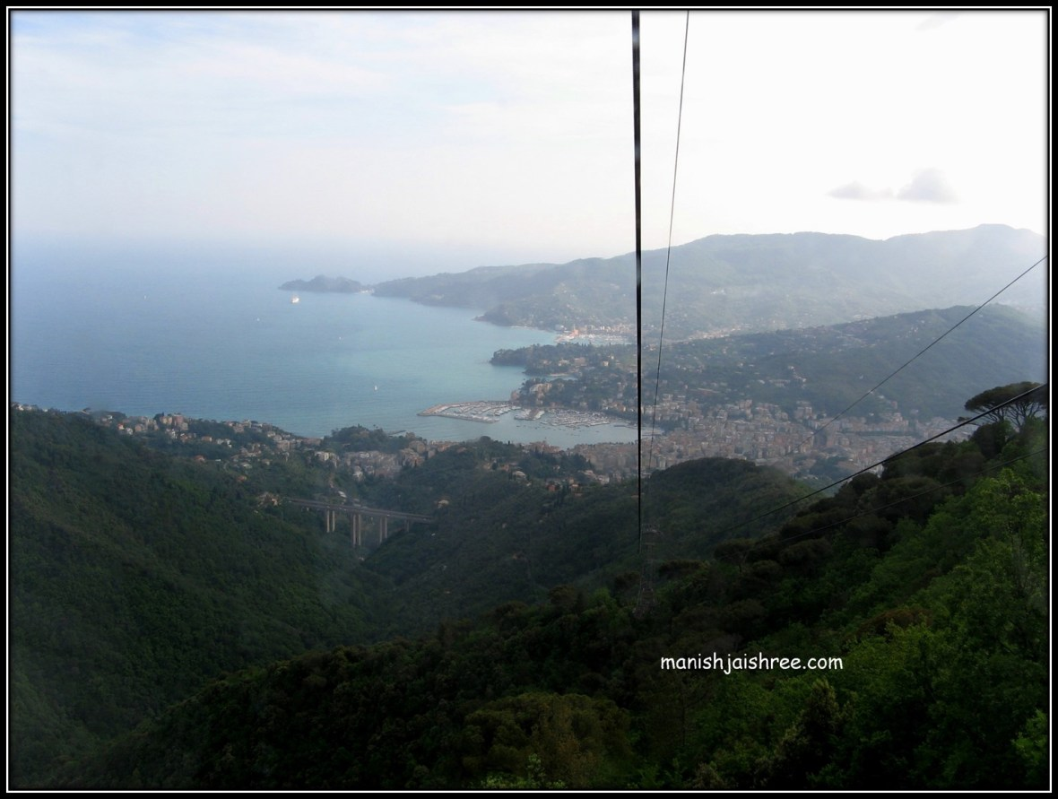 Bays seen from Funivia