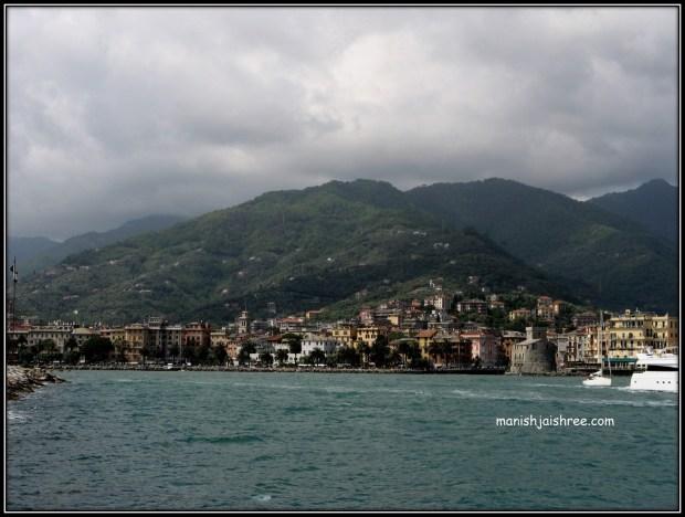 Panoramic View of Rapallo