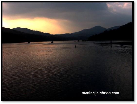 The Periyar Lake
