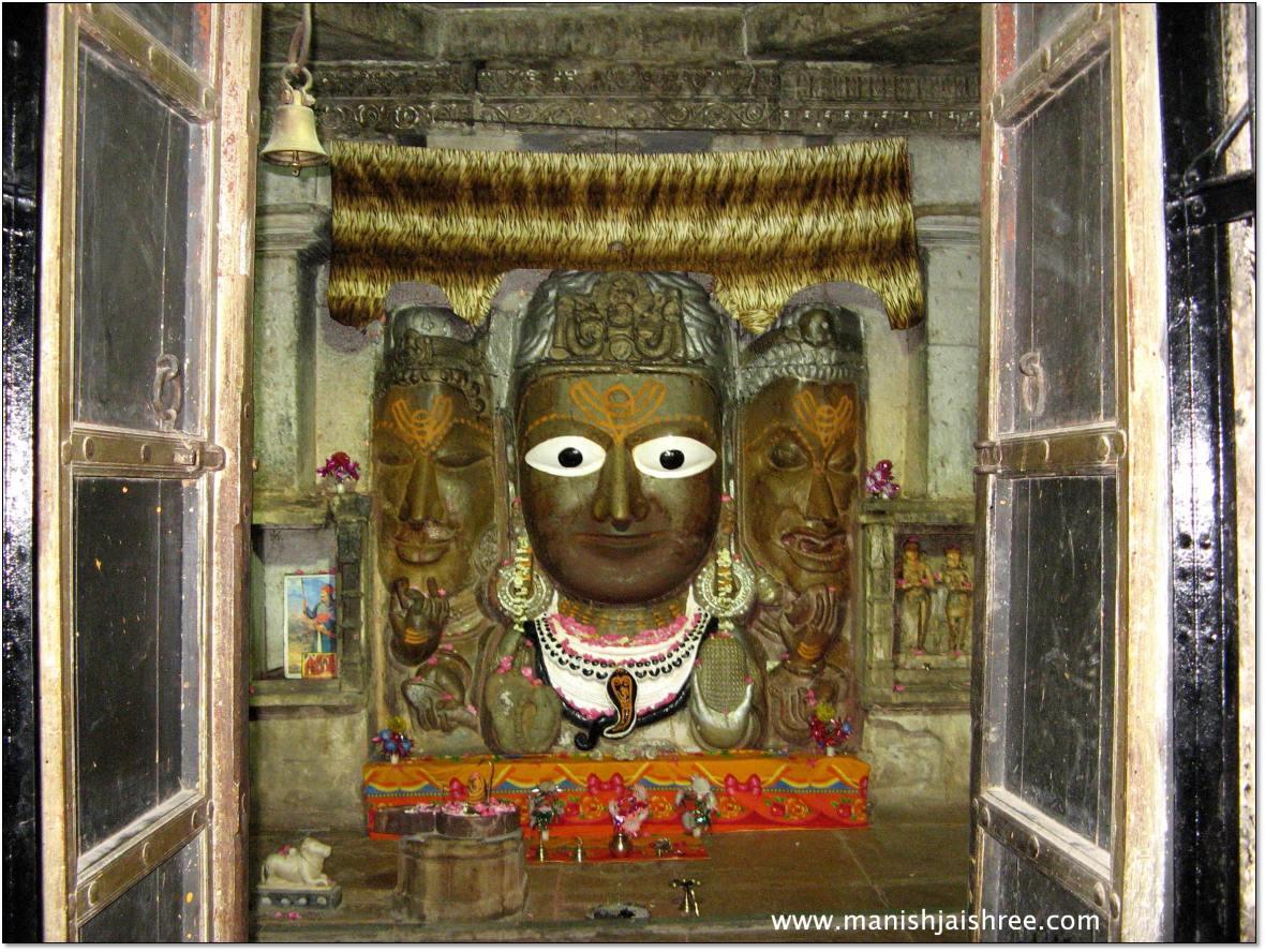 Mahadev in Sammidheshwar Temple, Chittorgarh Fort