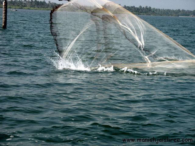 Fishing net kollam
