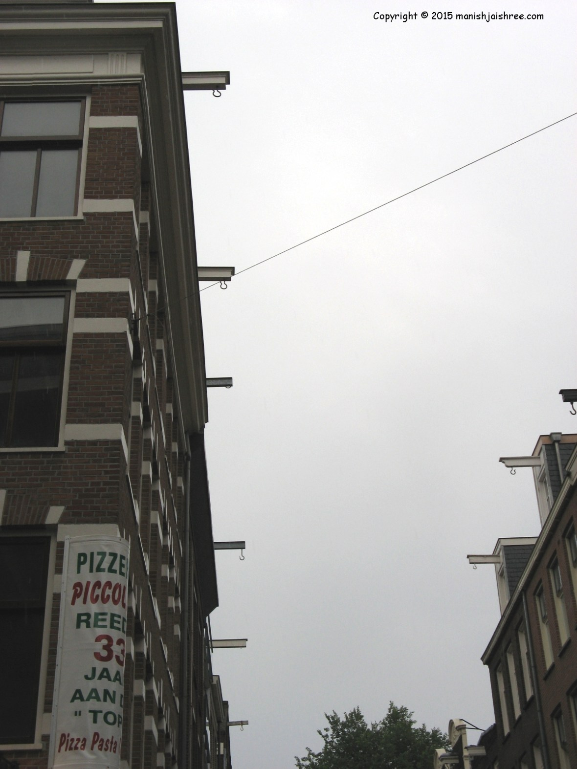 Several  houses with hooks, Amsterdam