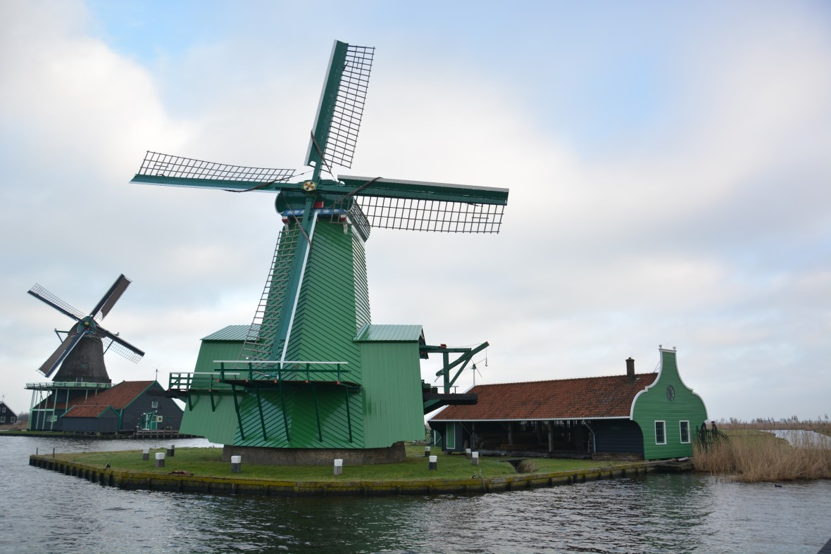 Windmill at Zaans Museum, Photo courtesy Rajat Kulshrestha
