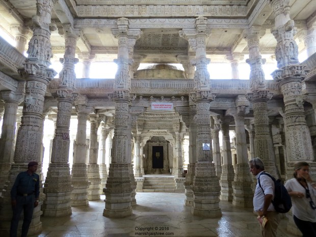 Multi-pillared Ranakpur Temple