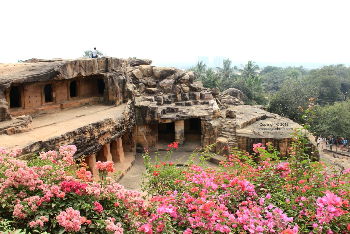 Another beautiful double storey caves in Udayagiri Cave Complex, Odisha