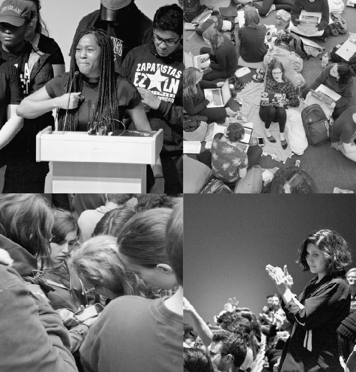 Students of color react to campus protests (Cont.)