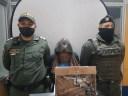 Una mujer en estado de gestación fue capturada con un arma de fuego en el barrio Fátima