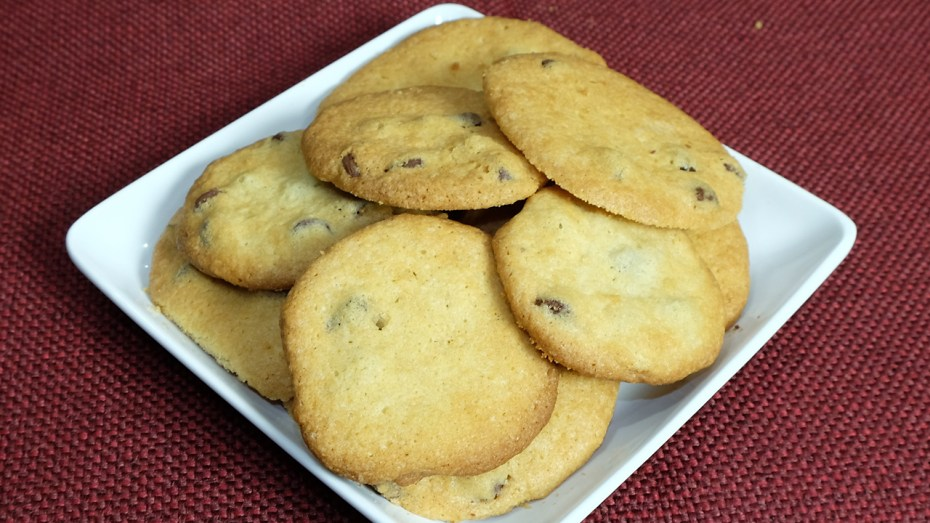 Eggless Chocolate Chip Cookies Recipe by Manjula