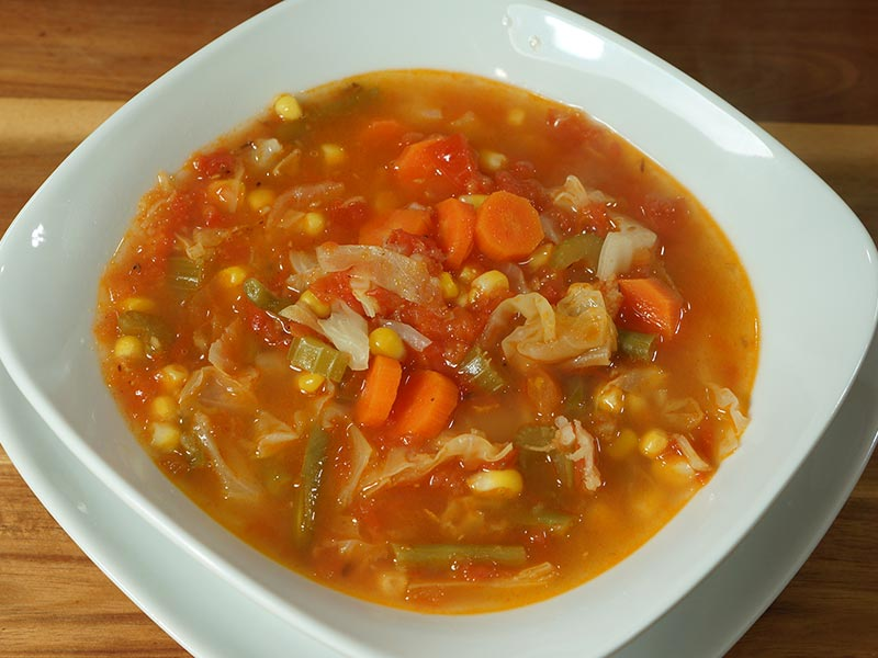 Vegetable Soup - Manjula's Kitchen - Indian Vegetarian Recipes