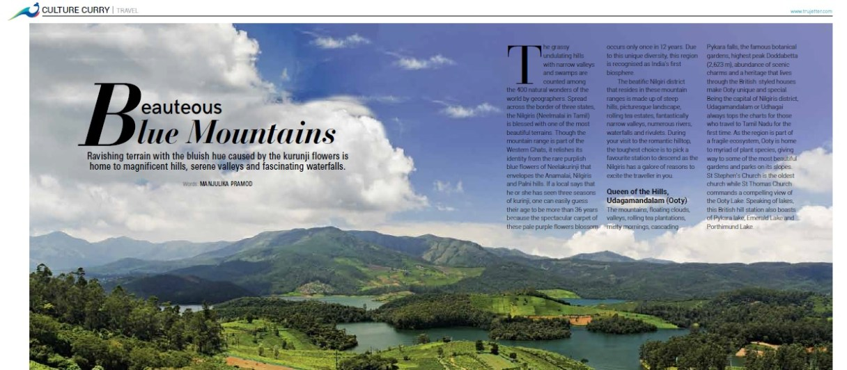 Ooty, Wellington, Coonor, Kothagiri
