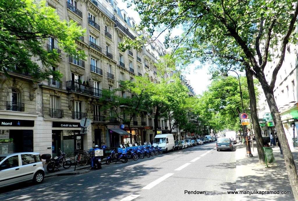 Street photography-Paris summers