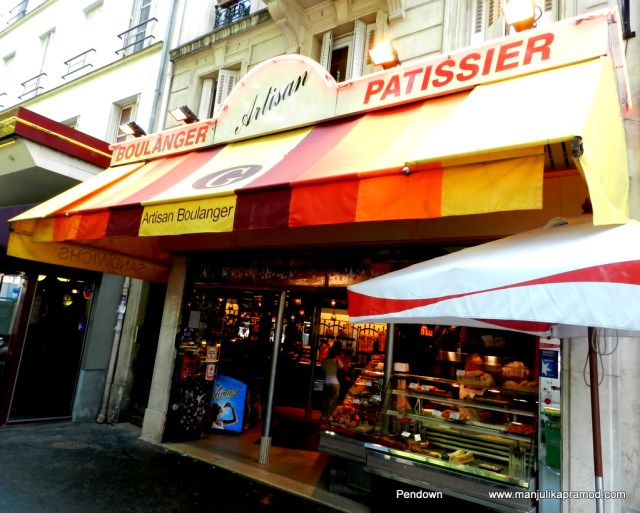 Patissier, Boulanger, Artisan, Paris streets, Food in Paris