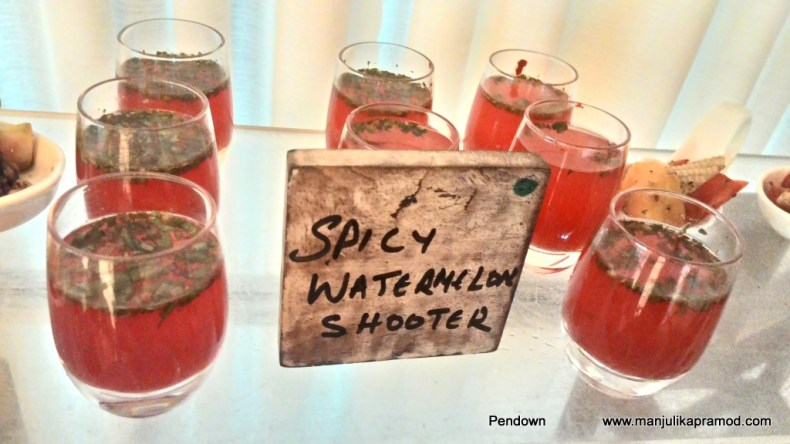 Spicy Watermelon shooters, Drinks in Goa, What to do in Goa