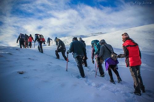 Travel blogger, Kuari Pass Trek, The Lord Curzon Trail