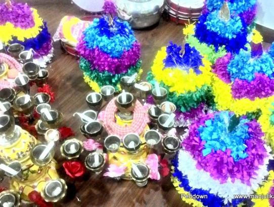 F^3 Carnival: Telangana Bathukamma celebrations in Delhi
