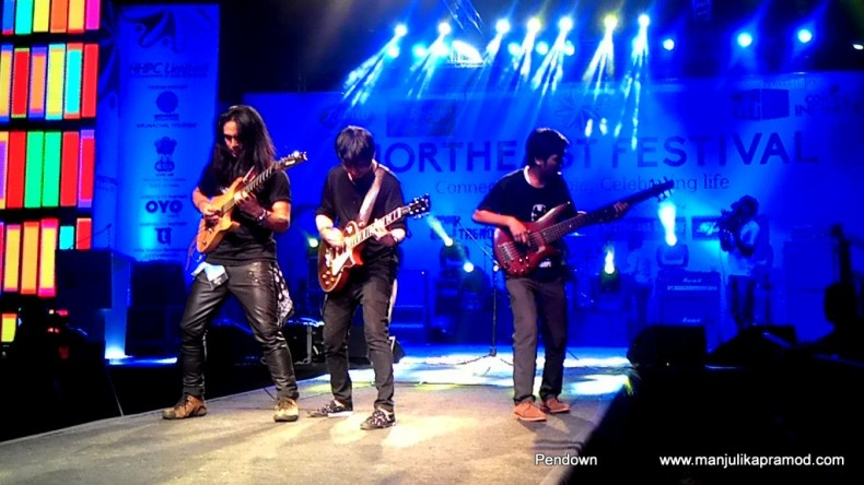 Rockband, Manipur, Traffic jam, Northeast festival