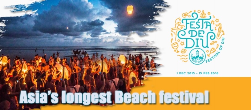 Festa Diu-Biggest Beach Festival of Asia, Travel India, Travel blogger