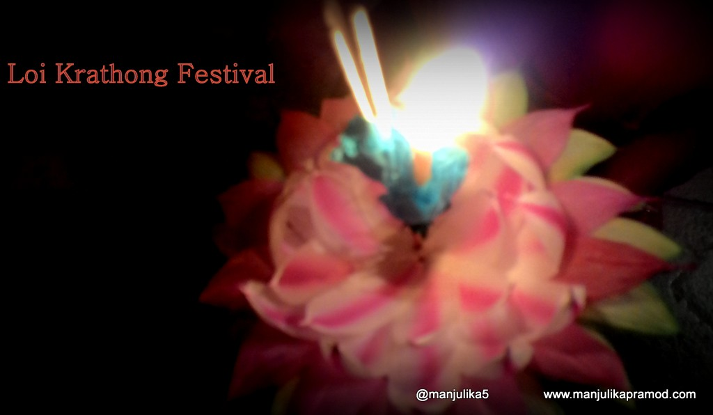 Loi Krathong takes place on the evening of the full moon of the 12th month in the traditional Thai lunar calendar.