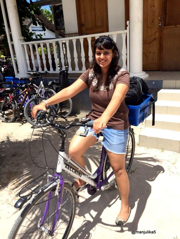Go cycling in Seychelles