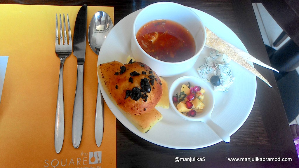 My Lunch at Square, Novotel, Mumbai