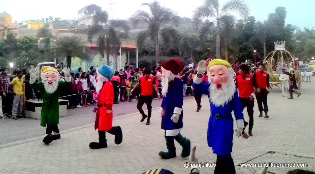 The Grand Imagica Parade