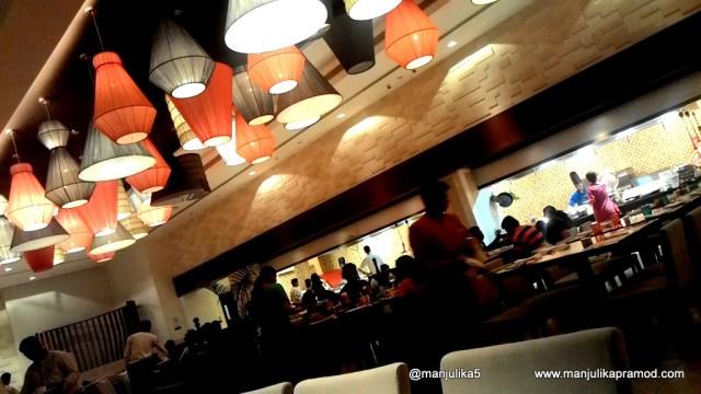 Dinner at the Square at Novotel Imagica, Khopoli, Mumbai Weekend getaway
