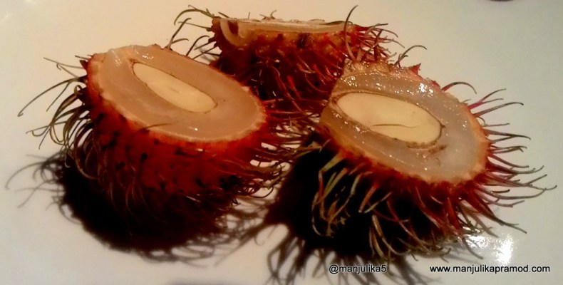 Rambutan- from the litchi family