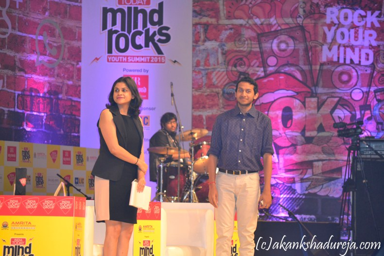 The CEO of Oyo rooms at Mind Rocks