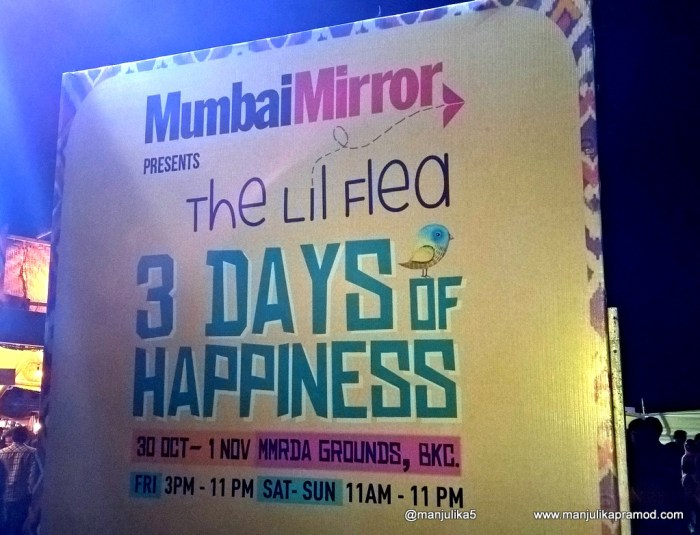 The Lil Flea, 3 days of Happiness, MMRDA Grounds, BKC