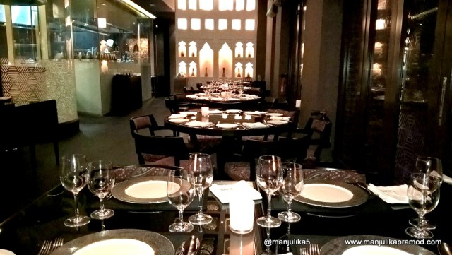 Patiala is conveniently located in the heart of Dubai - Souk Al Bahar.
