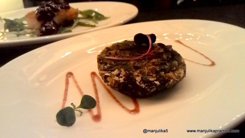 Veg kebab made from Spinach and Gourd