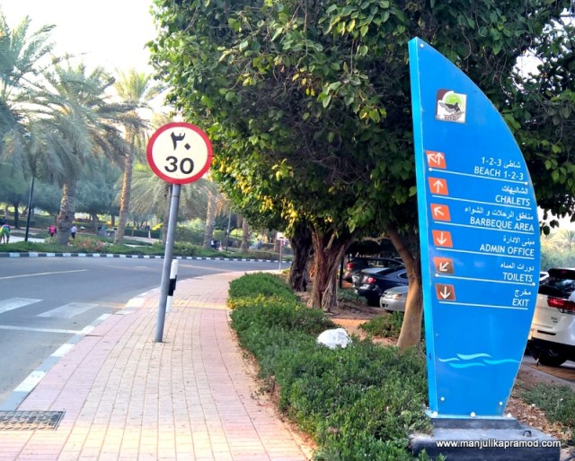 Al Mamzar Park in Dubai -You must know all its sections