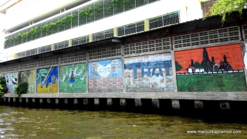 Wall Art, Graffiti, Bangkok
