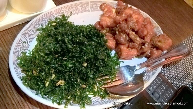 Crispy Spinach Paneer