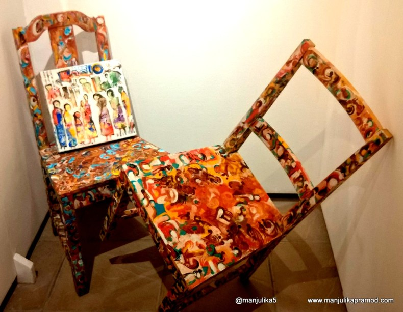 Lets paint the chair, Art, Decor, Lifestyle