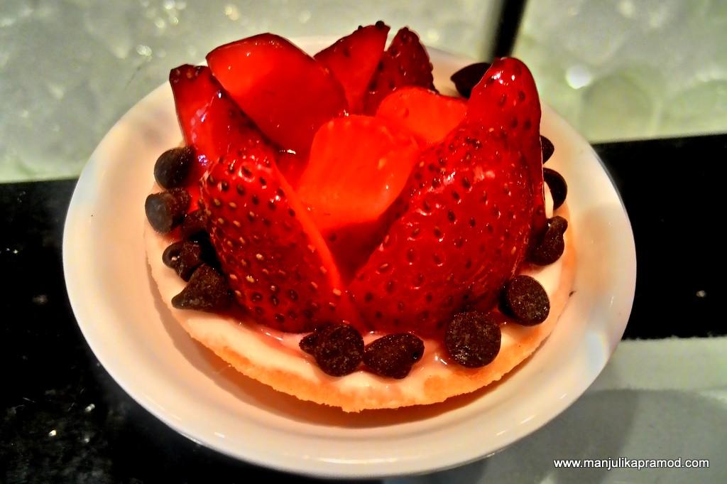 Strawberry Tart- Radisson Blu Plaza, Gurgaon