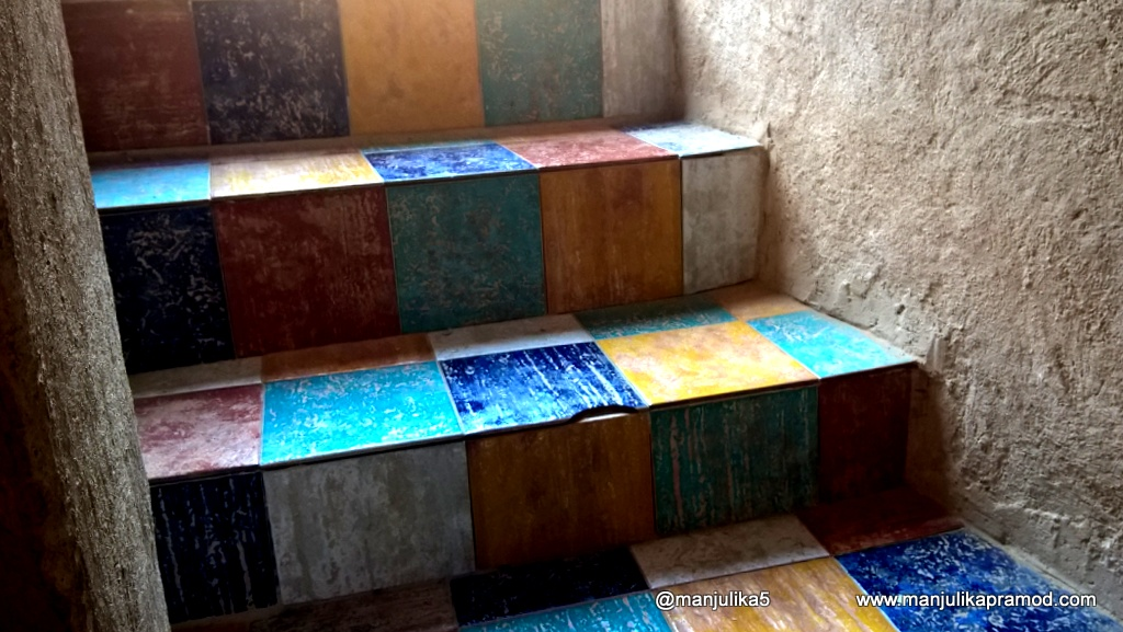 The colourful Stairs