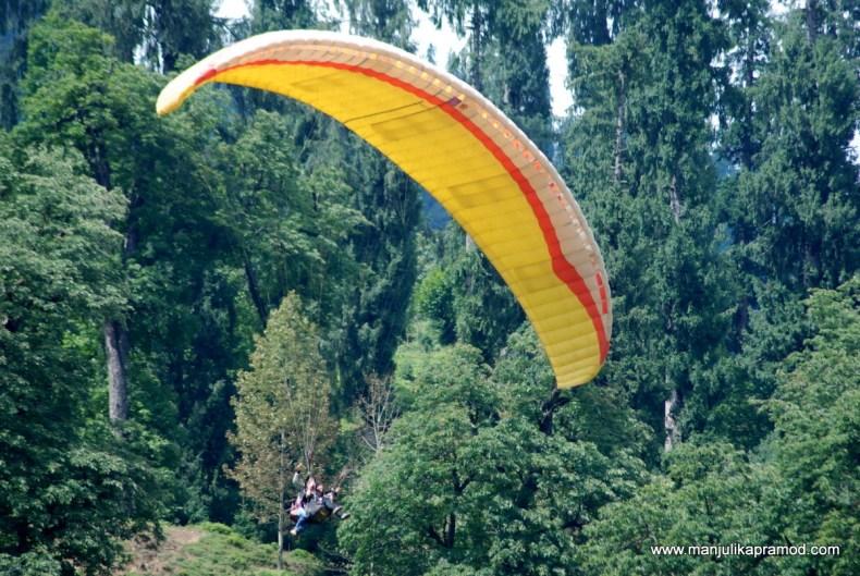 Travel stories, Manali, Paragliding