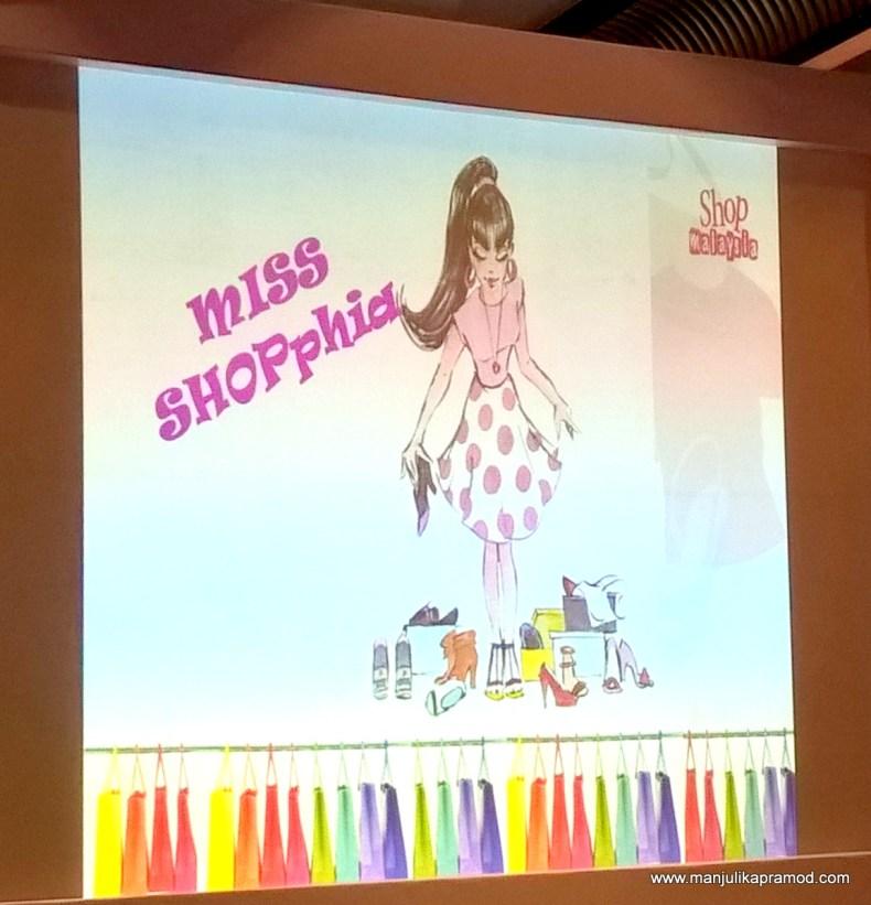 Be a shopaholic like miss shopphia