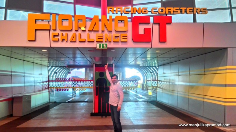 The Racing Coasters, Ferrari World, Roller Coaster