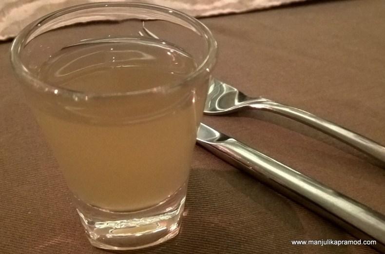 Jal Jeera shot, Drinks in Delhi