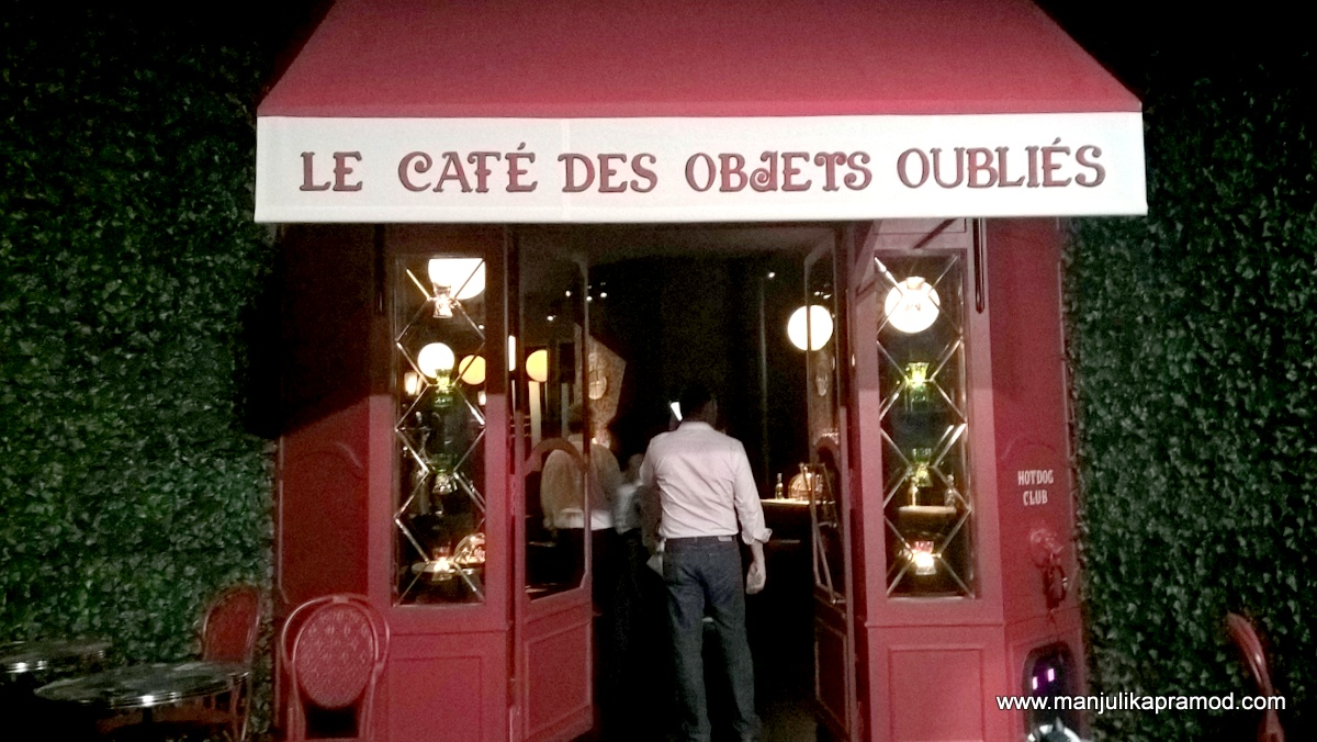 The Cafe of Lost Objects