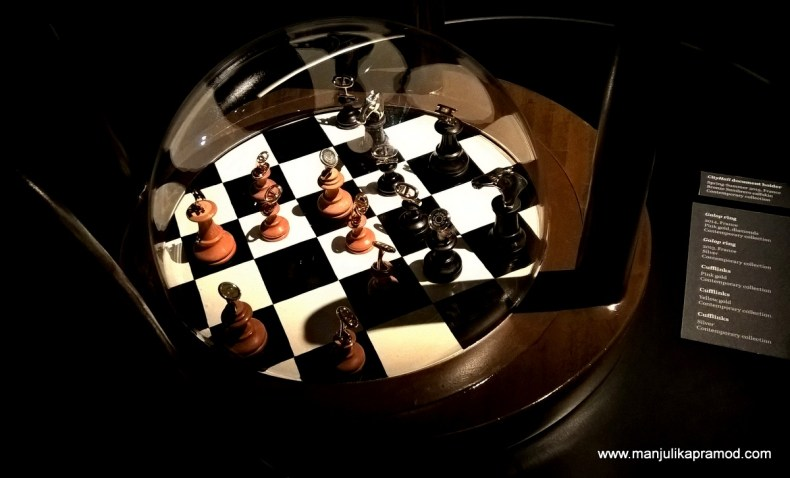 The Chess Board-Hermes Exhibition